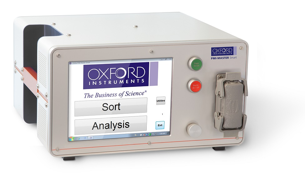 Thiết bị quang phổ (OES) phân tích hợp kim di động- Model PMI Master Smart