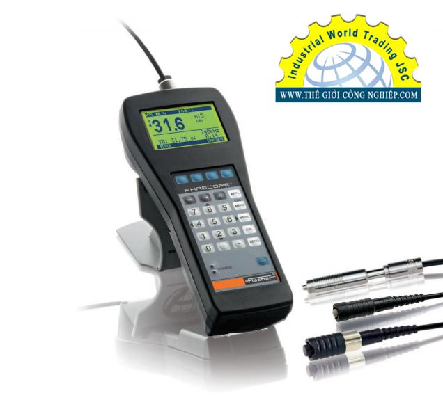 Máy đo độ dày lớp phủ (xi, mạ) cầm tay Fischer PHASCOPE ® PMP10