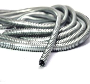 Ống ruột gà lỗi thép luồn dây điện mạ kẽm