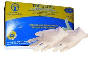 Bán găng tay y tế Top Glove Nitrile 12 tại Gia Lai