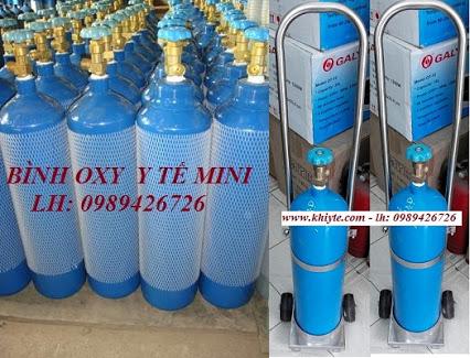 Cung cấp bình khí oxy ytế 24/24h tại tphcm