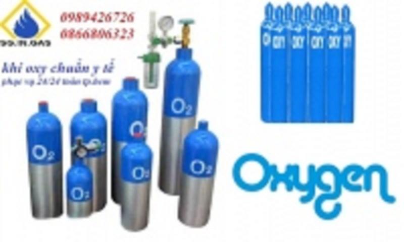 Cung cấp bình oxy 24/24h, giao hàng miễn phí tại TPHCM