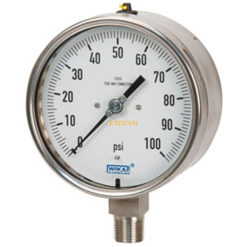 Đồng hồ đo áp suất hãng wika giá rẻ model 232.50 tại Eriko