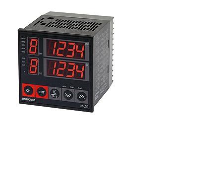 Đồng hồ đo nhiệt độ đa kênh MC9-8 xuất xứ Hàn Quốc, giá tốt