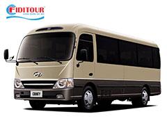 Hyundai County 29 chỗ cho thuê đi du lịch