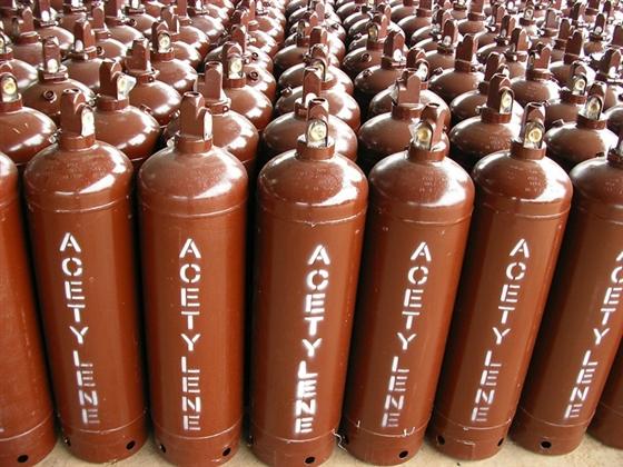 Khí actylen (khí axtylen), bình actylen tinh khiết, khí actylen trong công nghiệp hàn.