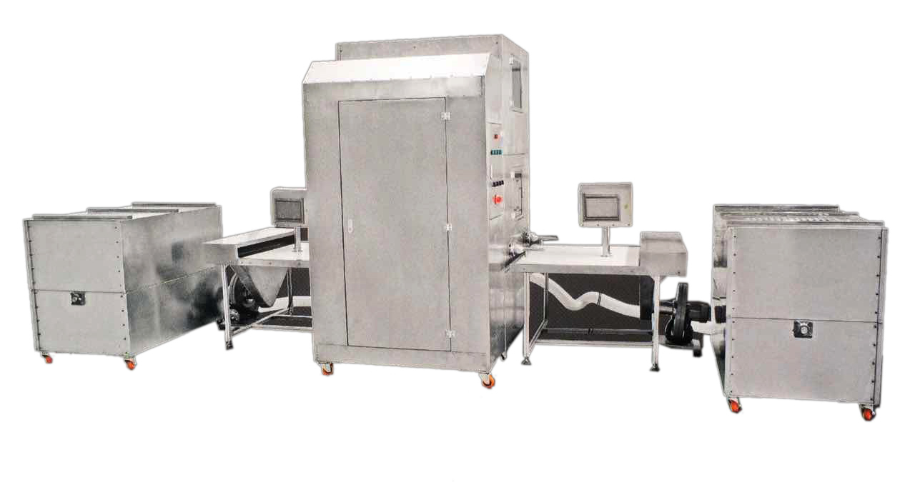 Máy nhồi lông vũ - automatic down and feather filling machine
