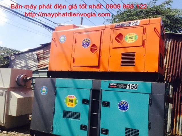 Máy phát điện công nghiệp - Máy hoạt động bền bỉ, chất lượng, ít tiêu hao nhiên liệu
