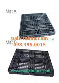 Pallet nhựa màu đen giá rẻ