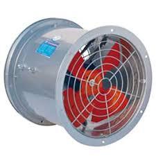 - Quạt thông gió các loại: quạt ly tâm và quạt hướng trục