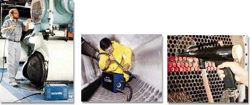 Thiết bị vệ sinh ống công nghiệp GOODWAY-USA