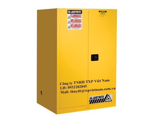 896020 - Tủ đựng hóa chất chống cháy loại cửa đóng tự động Justrite