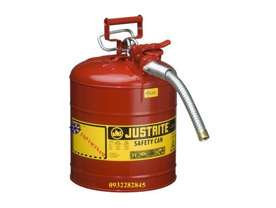 Can thép an toàn đựng hóa chất chồng cháy 19 lít