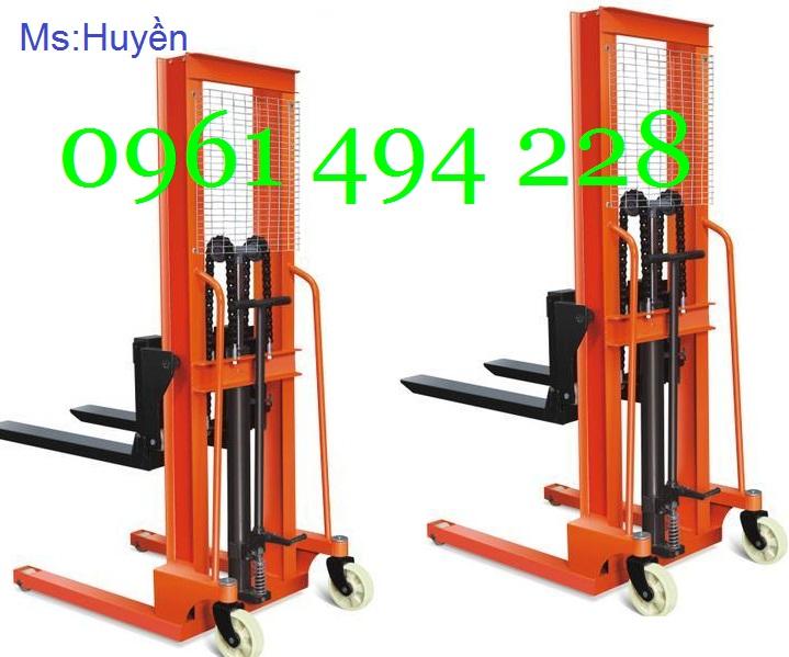 Chuyên phân phối xe nâng tay cao nhập khẩu Đài Loan nâng cao 1m6,2m5, 3m, giá tốt nhất thị trường