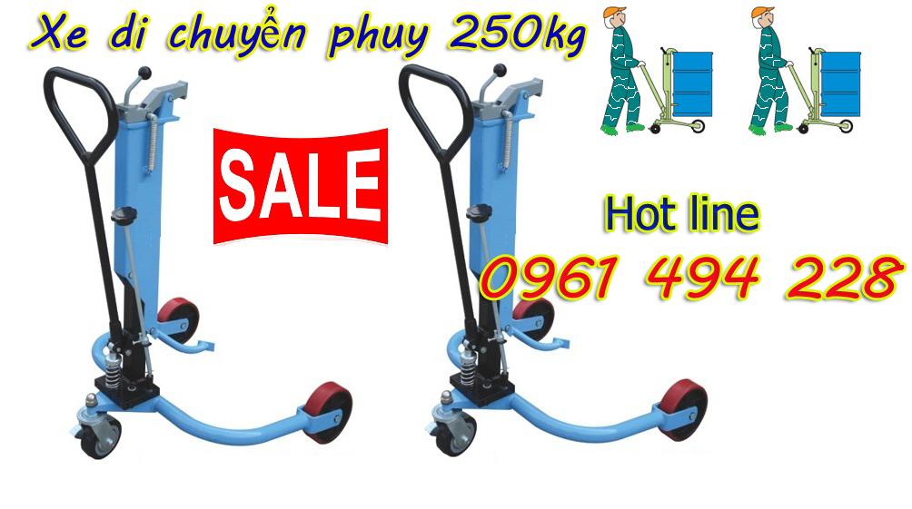 Xe di chuyển Phuy 250kg giá rẻ nhất thị trường