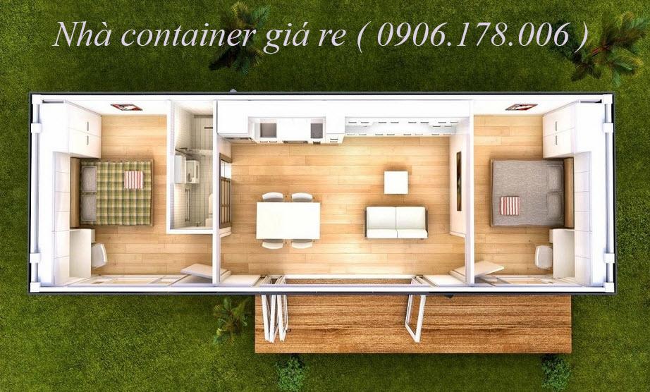 Bán nhà container - bán nhà container cũ giá rẻ