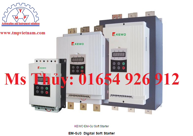 Khởi động mềm 3p 220V - EM-GJ2-018 - Kewo Vietnam - TMP Vietnam