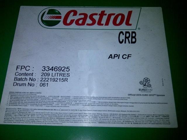 Dầu động cơ Castrol CRB CF-4