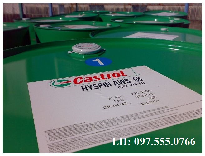 Dầu thuỷ lực Castrol Hyspin AWS 68