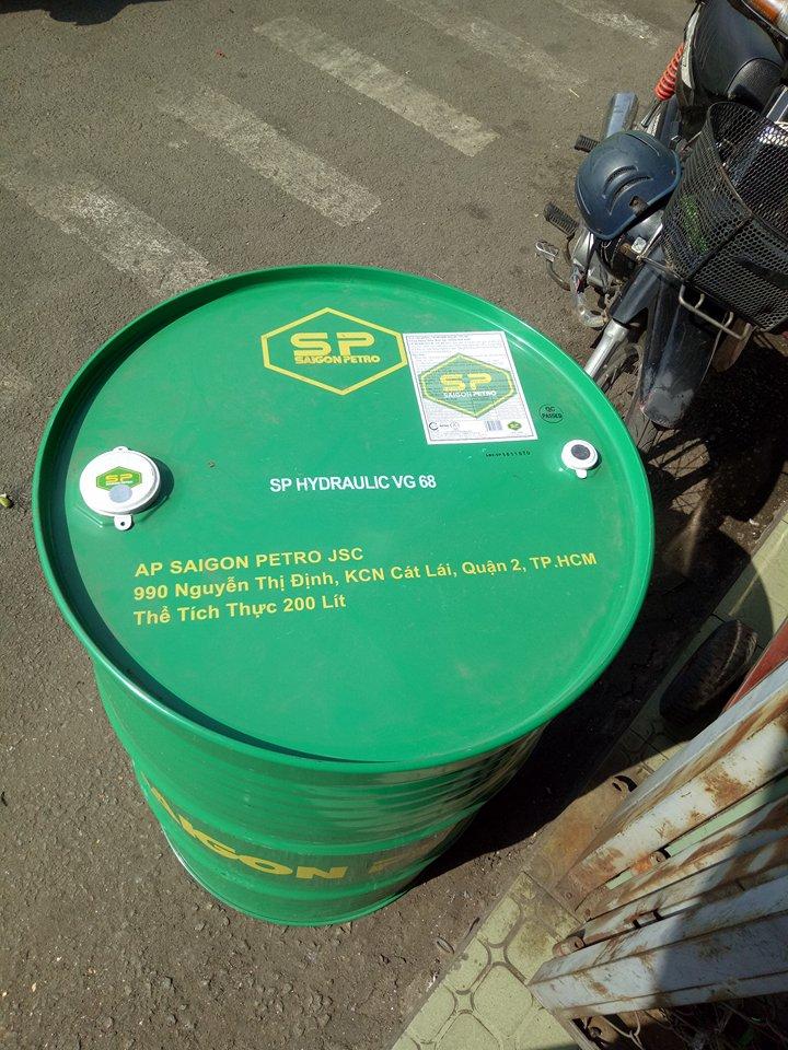 Dầu thuỷ lực Saigon Petro SP HYDRAULIC AW 68
