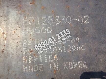 Thép Tấm Chịu Nhiệt nhập khẩu A515, A516, Sb410 Dày 6ly, 8ly, 10ly, 12ly, 14ly