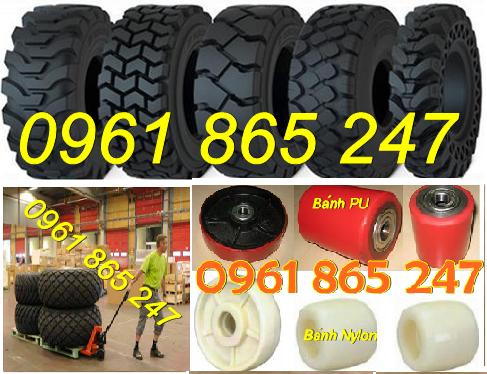 Bánh xe nâng, lốp xe nâng,vỏ xe nâng, lốp đặc, lốp hơi giá rẻ nhất