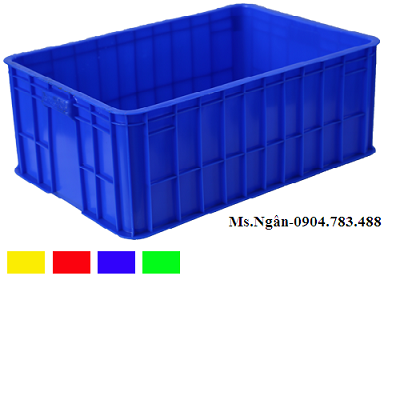 Thùng nhựa đặc VN03-HK/sóng hở VN04-HL/sóng hở VN02-HL phù hợp trong ngành nông sản, giầy da....