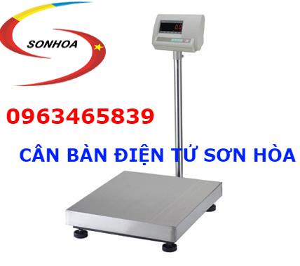 Cân bàn điện tử Sơn Hòa từ 15kg đến 500kg