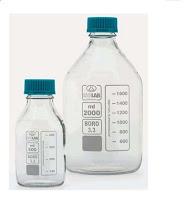 Chai thủy tinh trắng nắp vặn 1000ml isolab, đựng hóa chất
