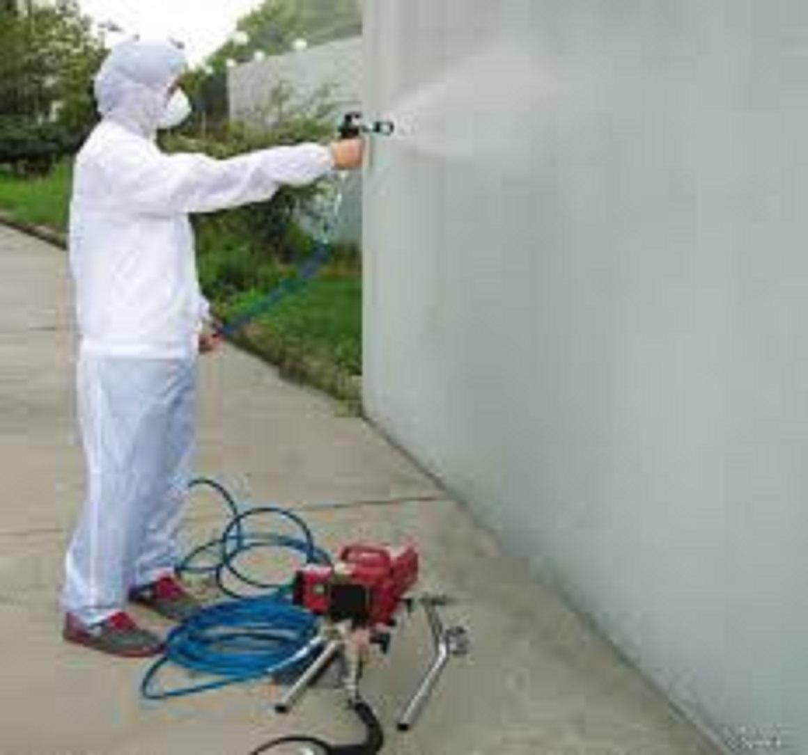 Máy phun sơn nước wagner, máy phun sơn công nghiệp áp cao