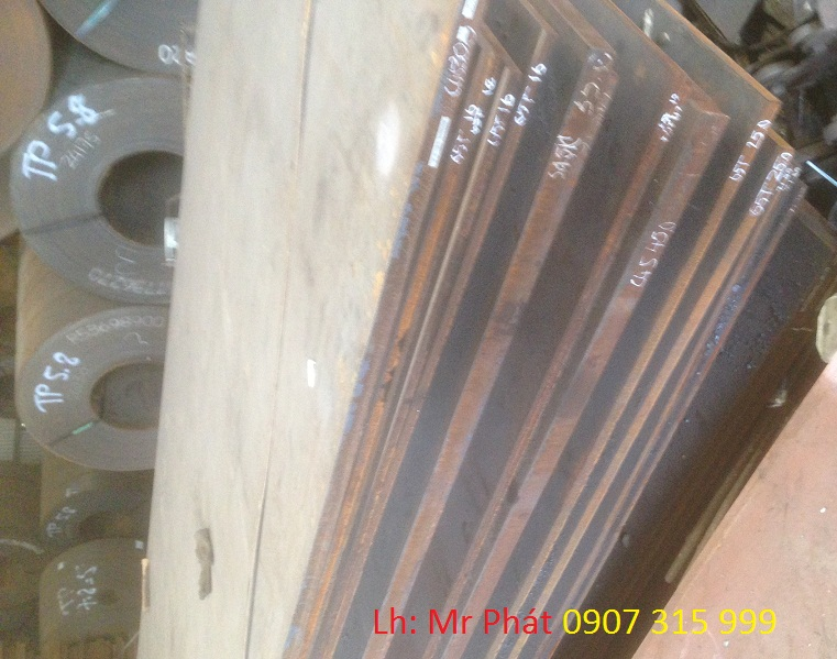 Thép Tấm Cường Độ Cao 65G,65R,A515,SB410,A36 - THÉP NHẬP KHẨU