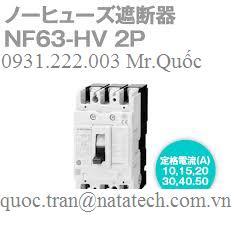 Thiết MCCB NF63-HV Đóng Cắt Tự Động ( Loại dòng cắt ngắn mạch cao )