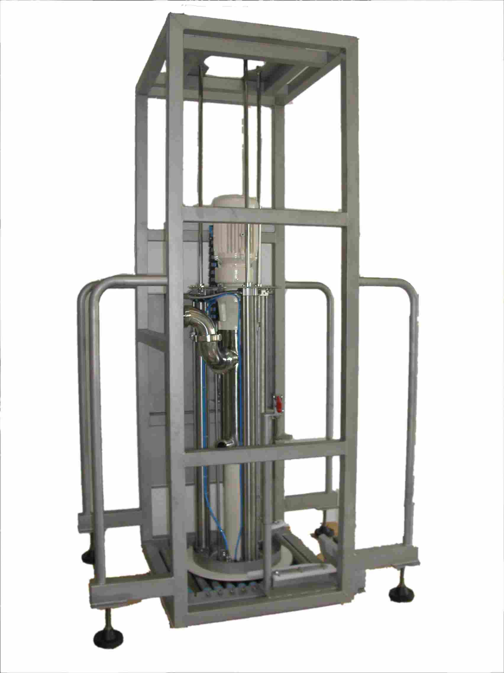 Container and Barrel Emptying Systems