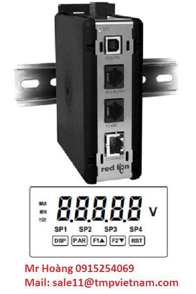 Đại lý Red lion-Cổng Ethernet - Bảng điều khiển RLC, RLC Serial Protocol-Ethernet Gateway - RLC Panel Meters, RLC Serial Protocol