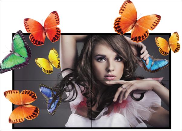 Hệ thống màn hình ghép tấm lớn - Video Wall OLMU-5520s