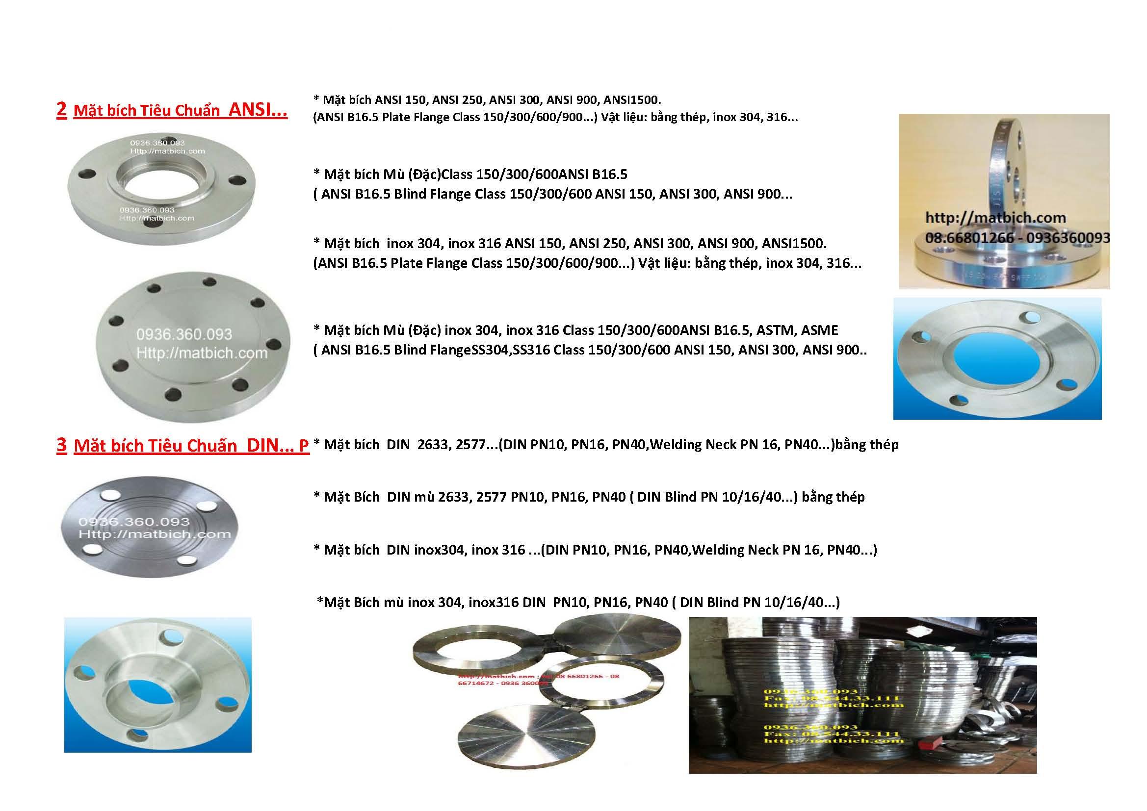 Mặt bích ASTM #150LB, #300LB, #600LB,900LB