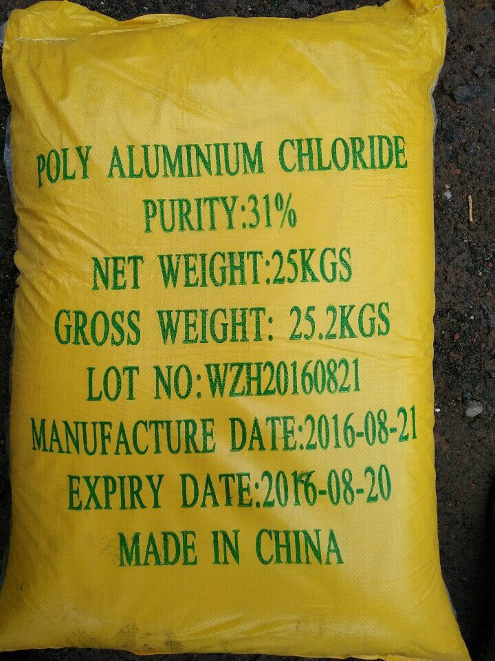 PAC 31% CHINA nhập khẩu