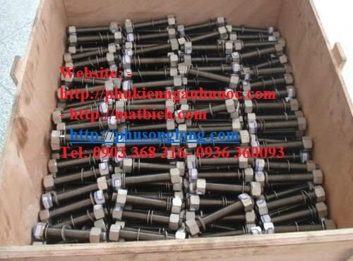 Stud bolt ASTM A320 Gr L7 / Heavy Hex Nut ASTM A194 Gr 7