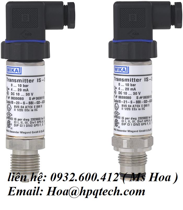Cảm biến áp lực Wika - cảm biến áp suất Wika - Wika sensor Vietnam Lh: 0932.600.412 Ms Hoa