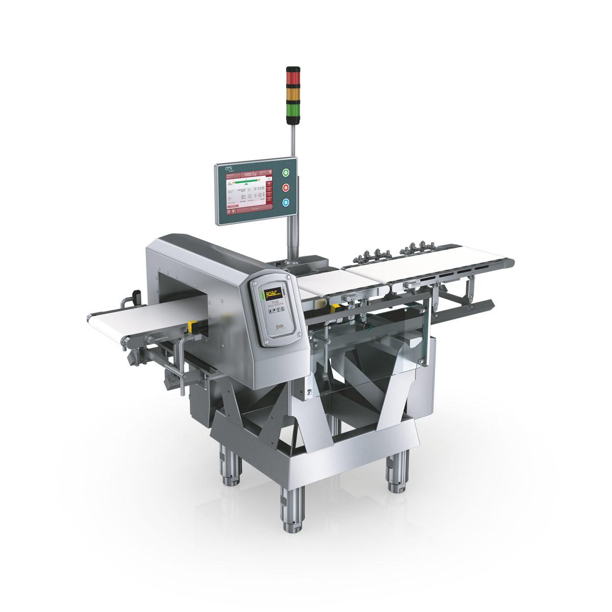 Cân Động tích hợp máy dò tìm kim loại ( HC-M-WD-MDi) của hảng OCS - CHLB Đức