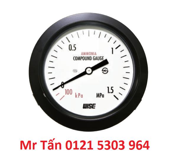Đồng hồ đo áp suất WISE P111 (Đại lý) TMP Việt Nam