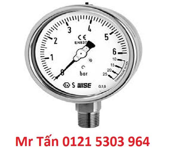 Đồng hồ đo áp suất WISE P256 (Đại lý) TMP Việt Nam