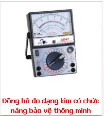 Đồng hồ đo dạng kim có chức năng bảo vệ thông minh