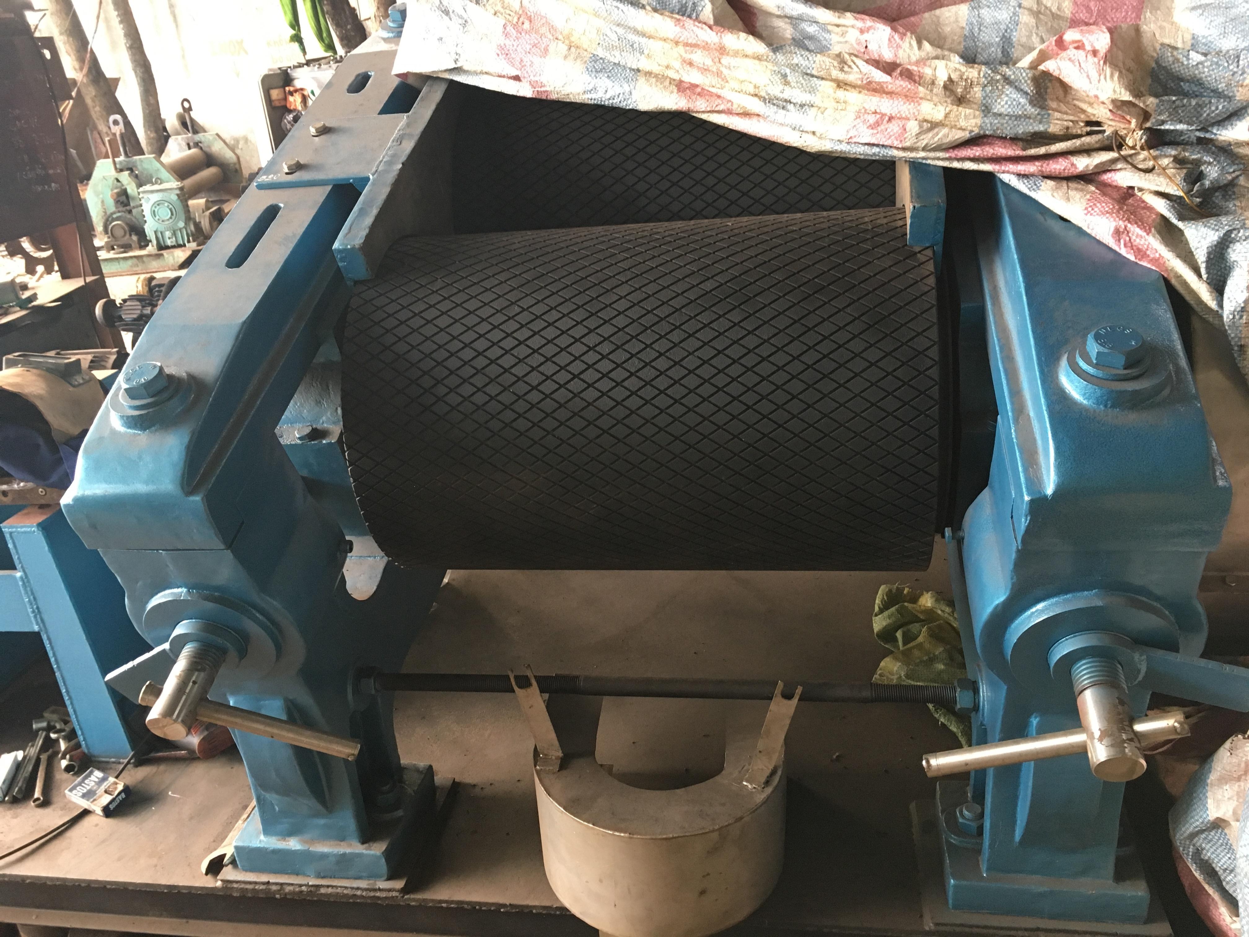 máy cán cao su 2 trục 510