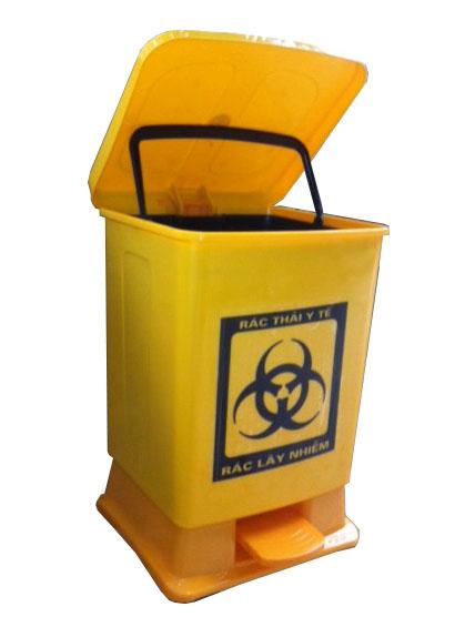 Bán thùng rác y tế đạp chân giá tốt.