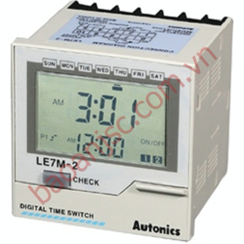 Bộ đặt thời gian Autonics LE7M-2 series