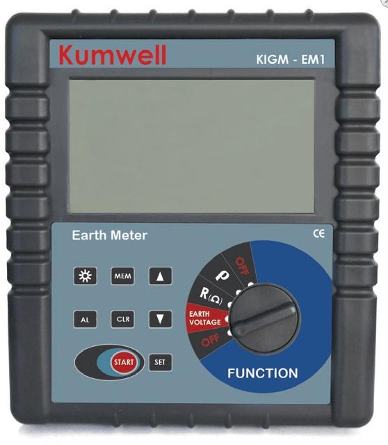 Đồng hồ đo điện trở - điện trở suất tiếp địa