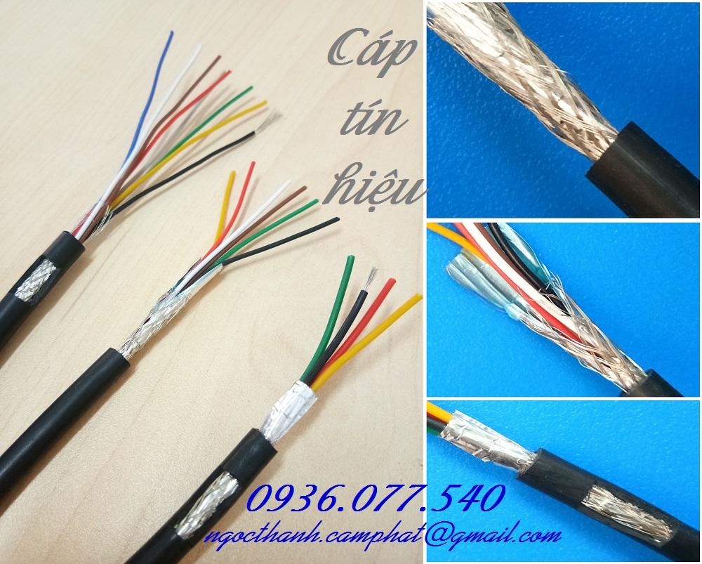 Phân phối Cáp Tín Hiệu Chống Nhiễu_HF Shield Alarm Cable