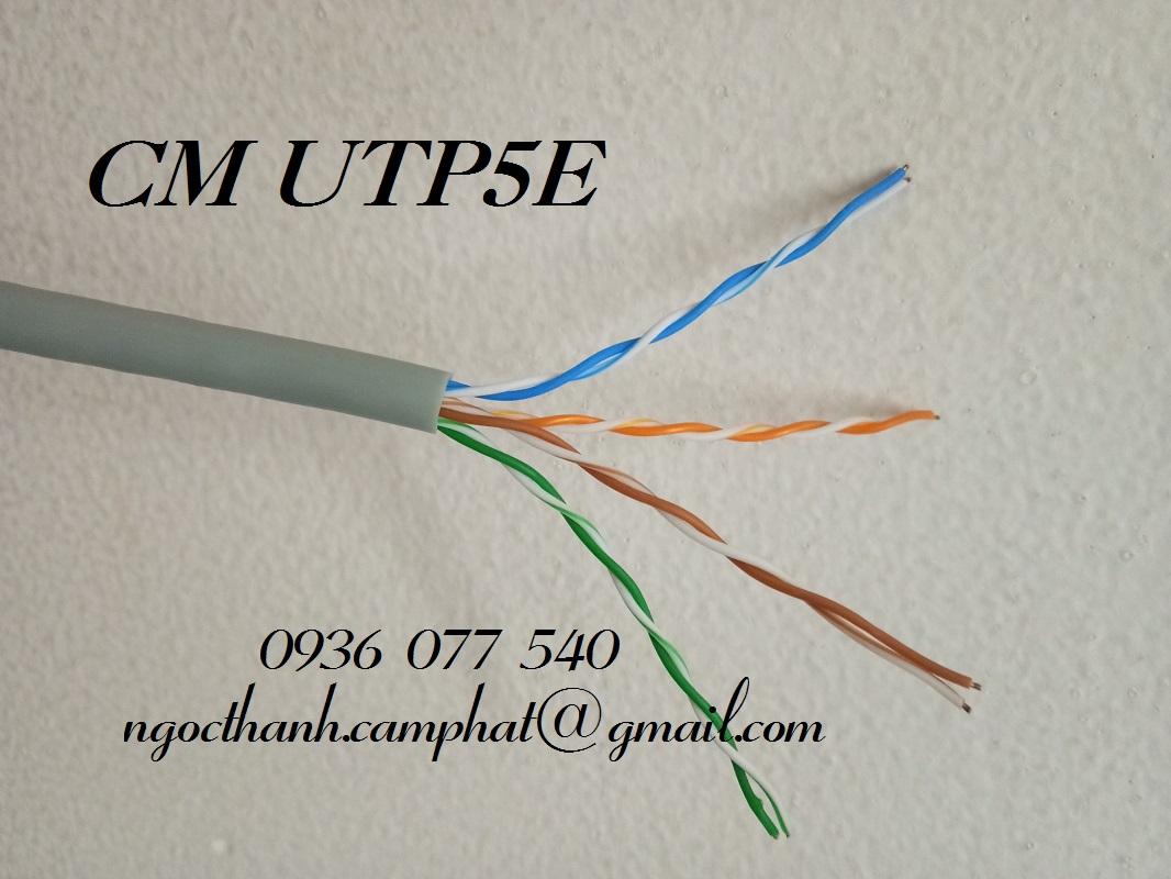 Phân phối dây cáp mạng HF- Cáp mạng UTP/FTP