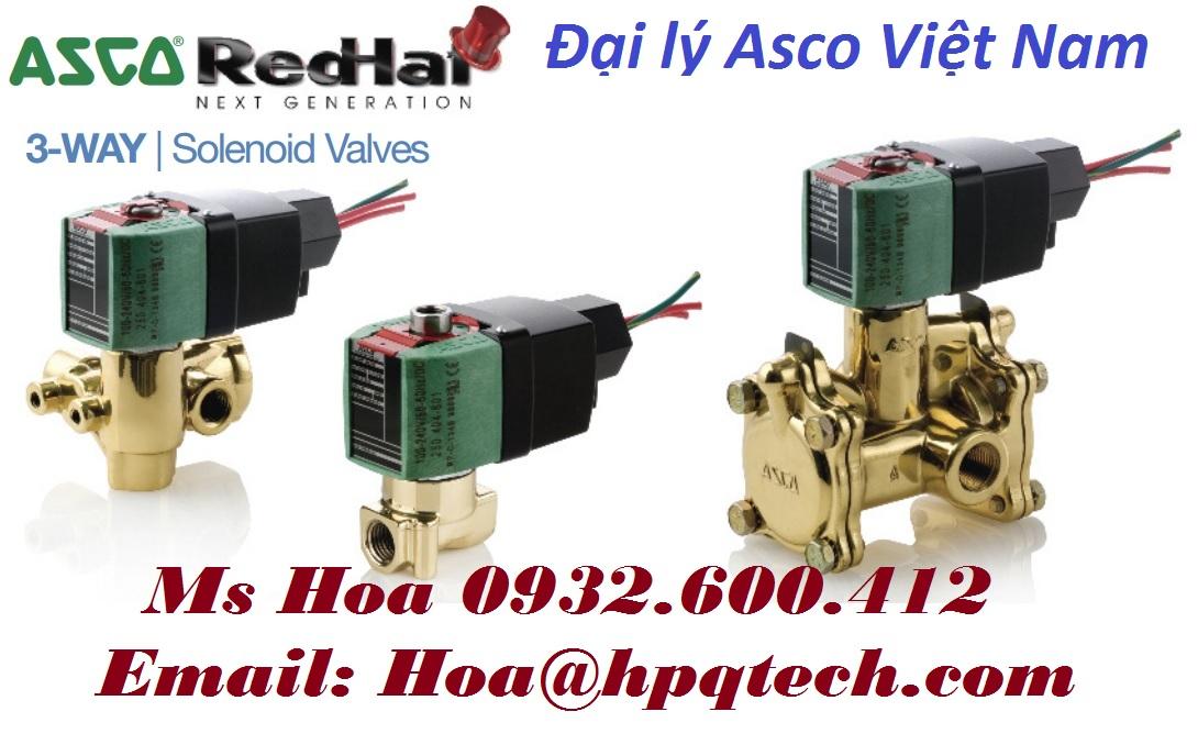 Van điện từ Asco - Van khí nén Asco - Đại lý Asco Việt Nam